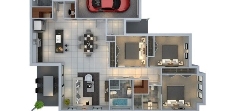 Kumpulan Gambar Contoh Desain Rumah Minimalis Modern