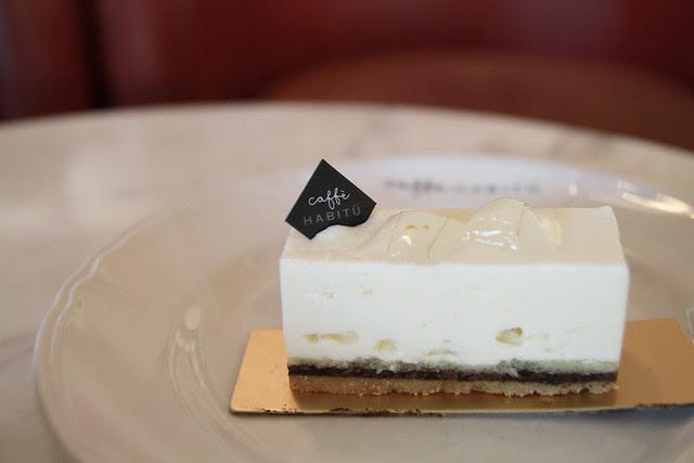 Aloe Vera Cake - Caffe Habitu