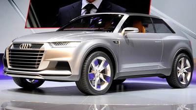 концепт-кар Audi Crosslane Coupe