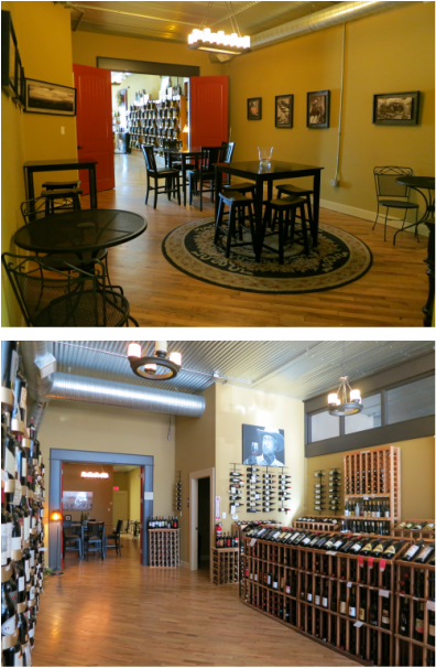 Private Room Store Rental Red Door Wine Store