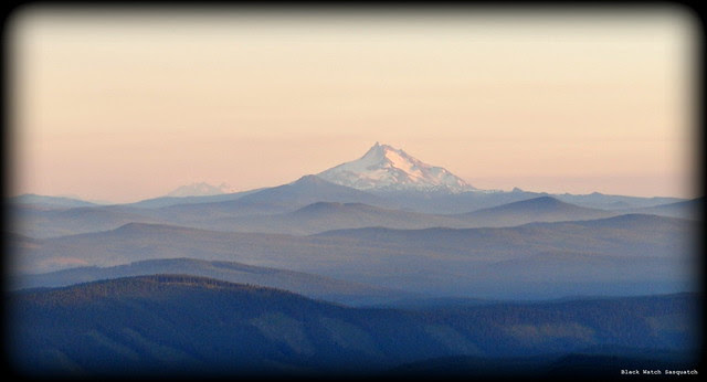 Mt Jefferson from the Timberline Lodge