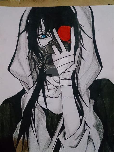 random anime character  kingjackson  deviantart