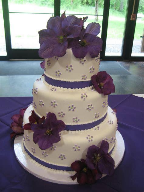 Jillicious Discoveries: Three Purple Wedding Cakes