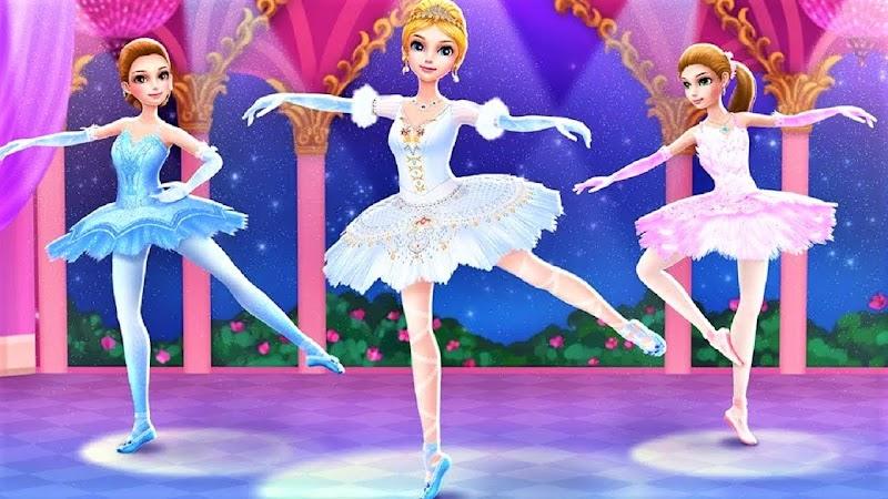 Pretty Ballerina Dress Up Games