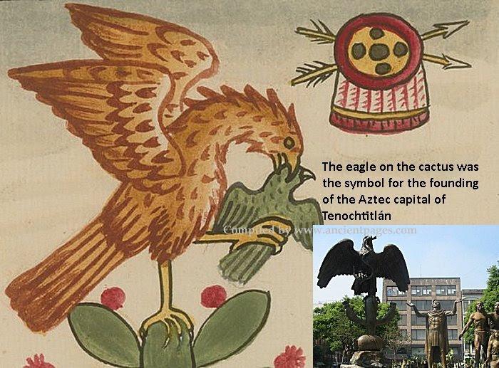 Eagle Aztec Symbol
