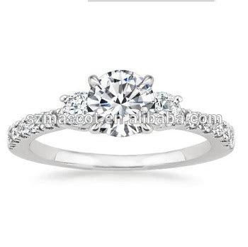 Cheap Price Silver Engagement Rings Catalogue Wedding
