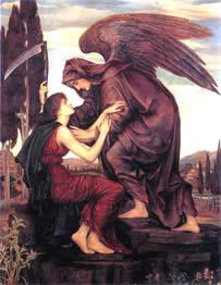 o que é a morte? Anjo Orifiel anjo da morte