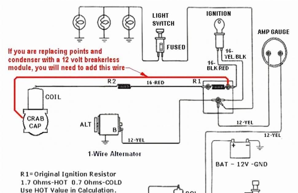 Ford 8n 12 Volt Wiring Harnes