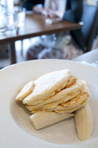 Ricotta Pancakes, Fresh Banana and Honeycomb Butter, Bills, Sitirigahama