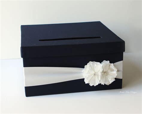 Navy Blue Wedding Card Box   13 Gorgeous Wedding Card and
