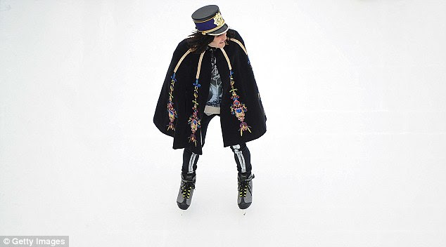 Flamboyant: The Mighty Boosh creator and comedy actor is known for his extravagant clothes