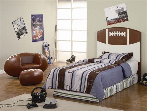 interesting sports themed bedrooms  kids interior