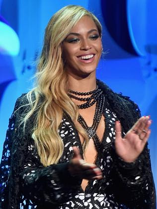 Star power ... Beyonce was standing by her man and her own artistic control at the Tidal