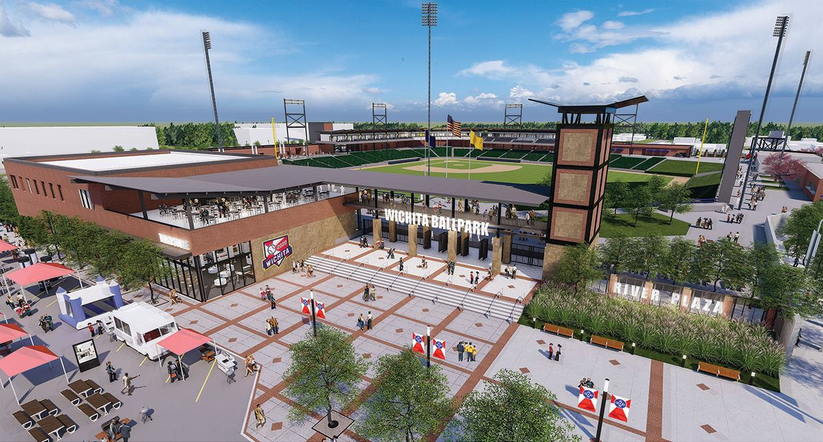 New Wichita Ballpark Designs Unveiled Ballpark Digest