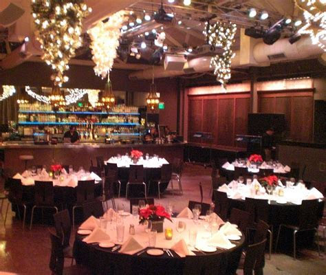 Our banquet hall, decorated for Christmas   Our Style in