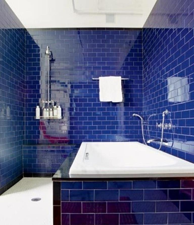 20 Extremely Refreshing Blue Bathroom Designs - Rilane