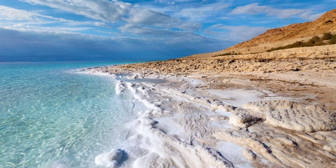 Zechariah 14:8 Is Being Fulfilled! The Dead Sea Is Becoming Fresh