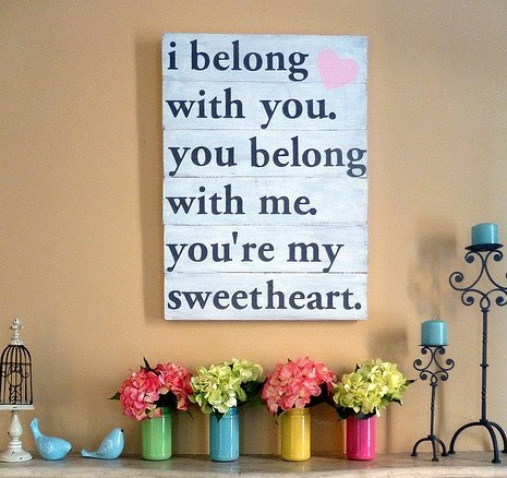 I Belong With You You Belong With Me Quote Picture