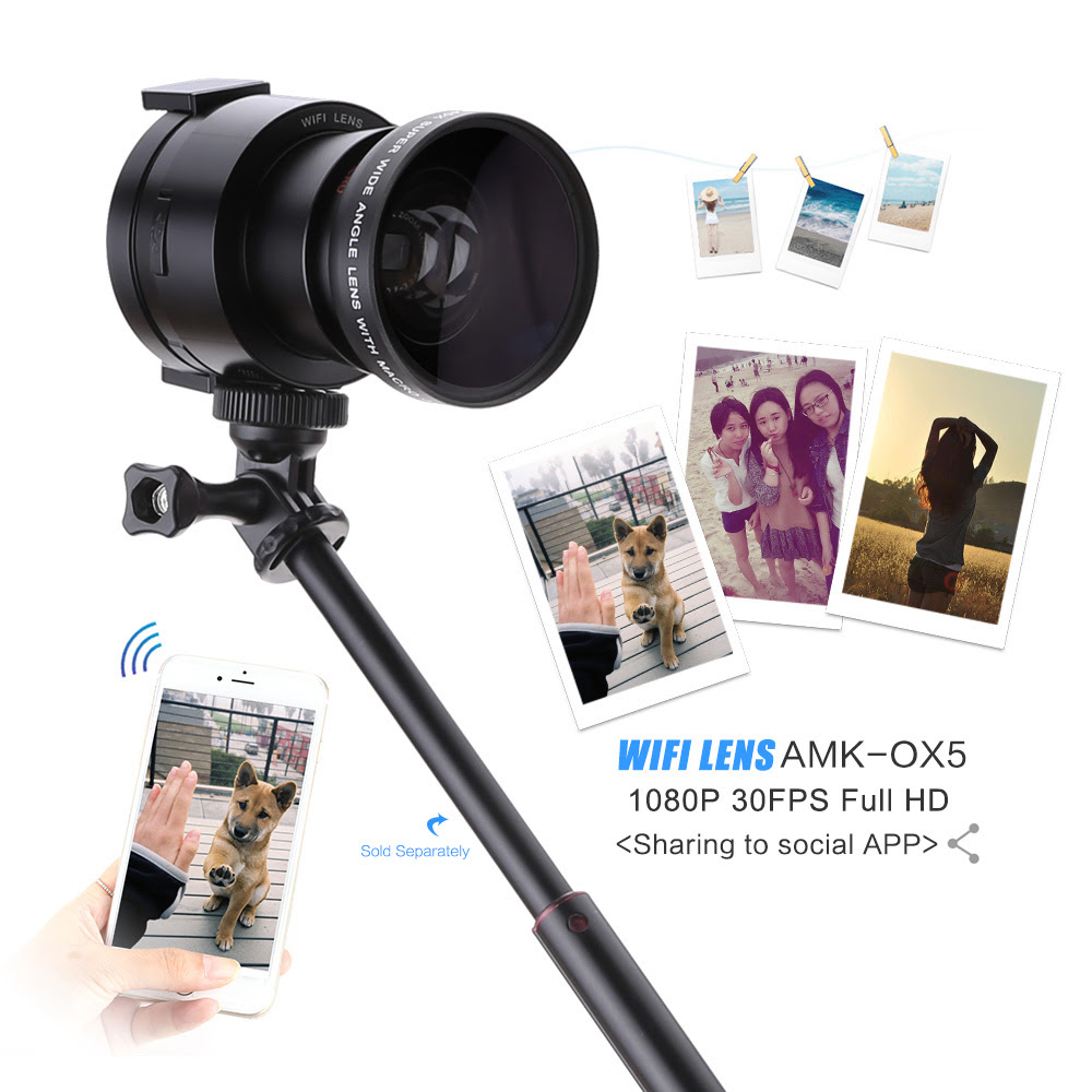 selfie lens camera wifi