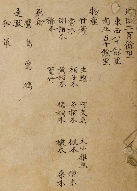 1736 ~ 1767 - Yeojido - Ulleungdo - Product List