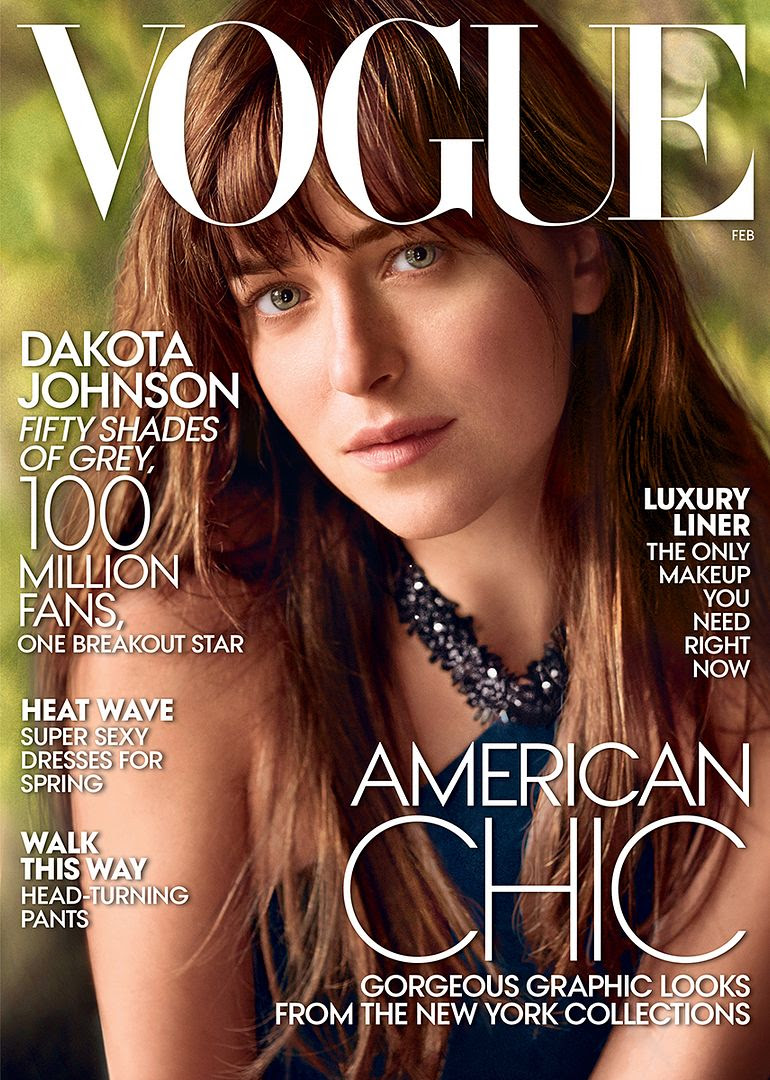 Dakota Johnson : Vogue (February 2015) photo dakota-johnson-cover.jpg