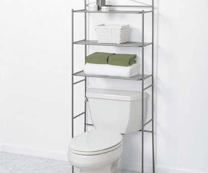 Chrome Wire Shelving Bathroom Brilliant Bathroom Over Toilet Space