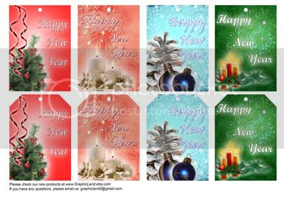 Free gift tags from GraphicLand