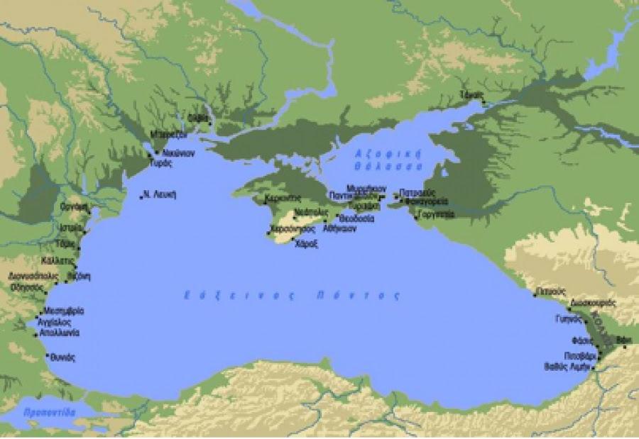 Αποτέλεσμα εικόνας για ένταση στη Θάλασσα της Αζοφικής