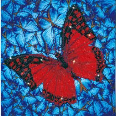 mary maxim flutter  red diamond dotz  items art kit art kits