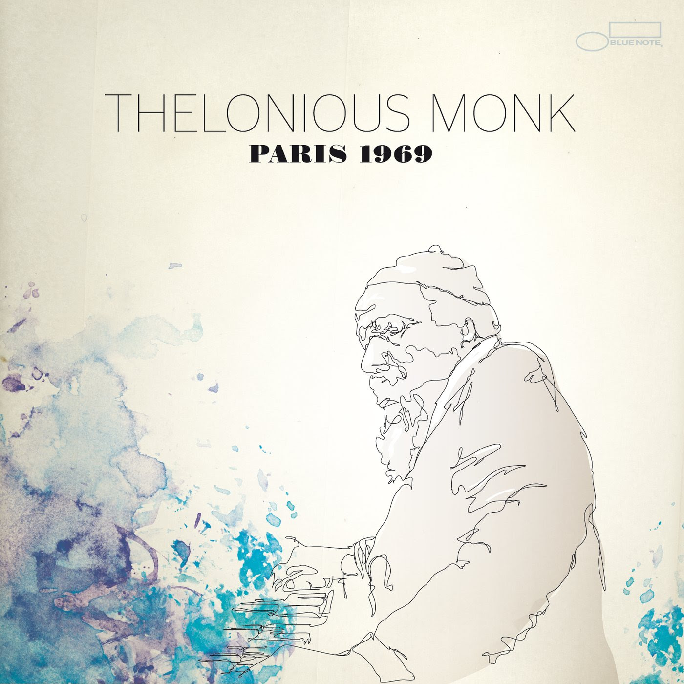 Thelonious Monk - Paris 1969 cover