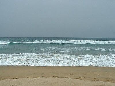Photo prise face à la mer sur une plage chilienne
