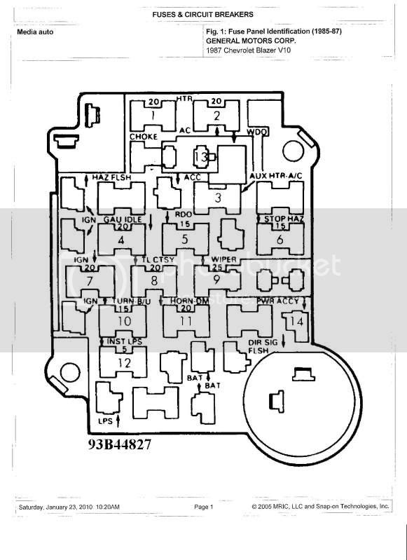 84 C1500 Fuse Box Wiring Diagrams Bare Dsquare Bare Dsquare Massimocariello It