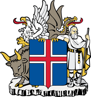 Coat of arms of Iceland