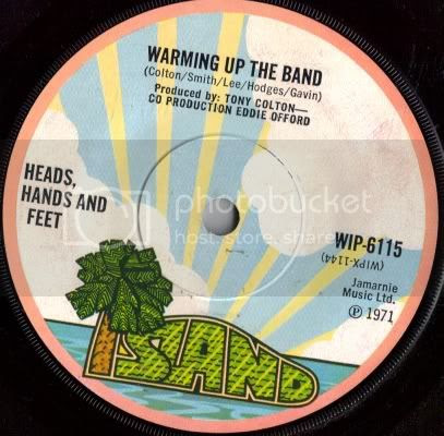 Heads, Hands and Feet - Warming Up The Band