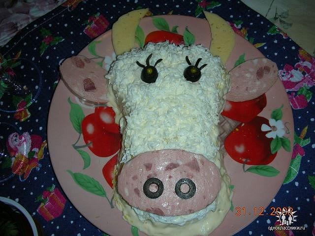 Ensalada vaquita tutorial con plantillas ideas y for Decoracion de ensaladas
