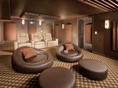 trends  home theater seating hgtv