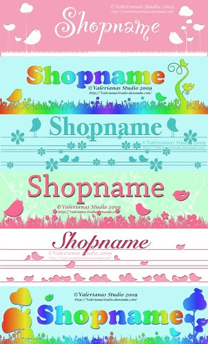 Banner for Shop or Blog - Birdies