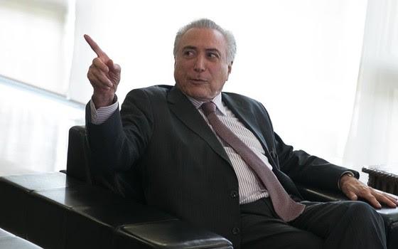 O presidente interino Michel Temer (Foto: Valter Campanato/Agência Brasil)