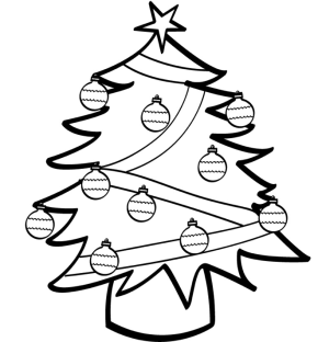 Decorated Christmas Tree | Clipart Panda - Free Clipart Images