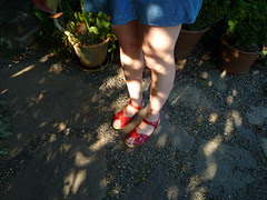 red sandals diaries