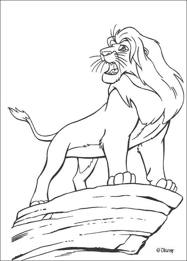 Dibujos Para Colorear Rey Leon 14 Páginas Disney Para Imprimir