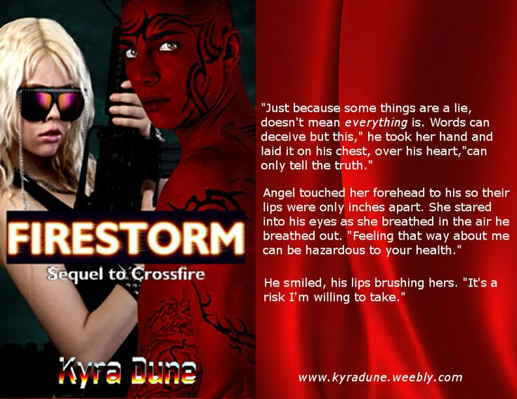 Firestorm by Kyra Dune