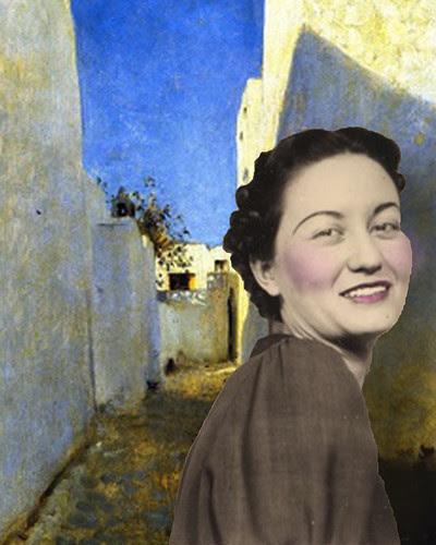 Adele in San Tropez by Lynne Larkin