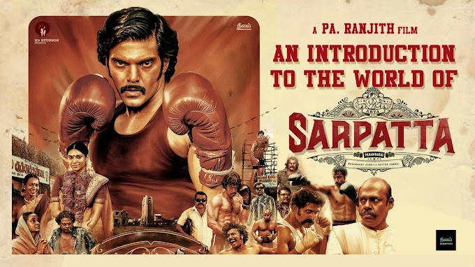Sarpatta parambarai songs download