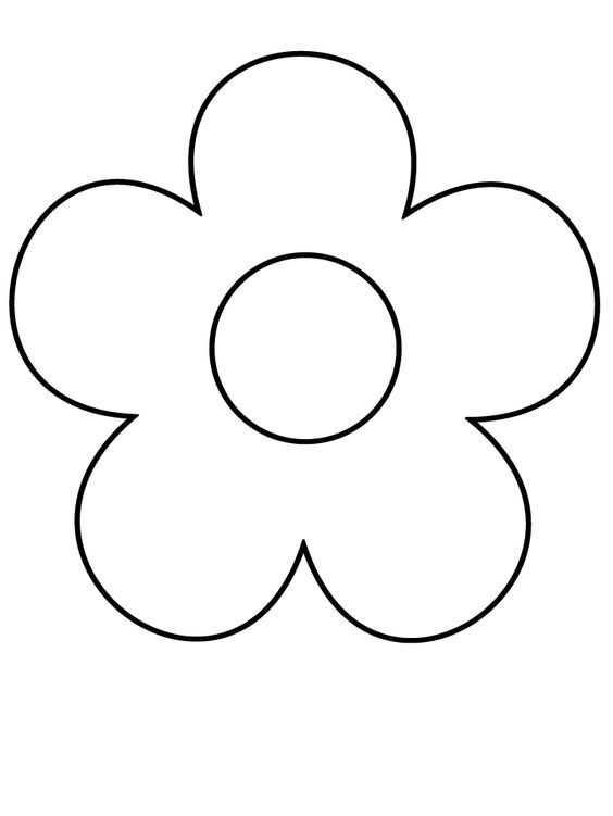 Anneler Günü Için çiçek Kalıpları Okul öncesi Etkinlik Faliyetleri