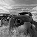 Bodie Car Black and White