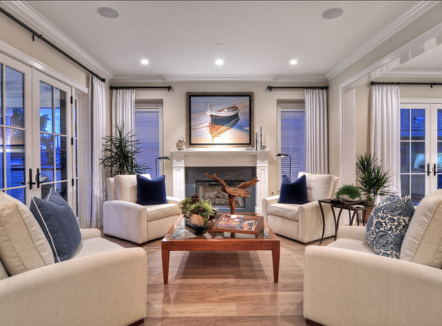 Family Home with Coastal Transitional Interiors - Home ...