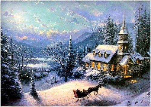 Christmas / Karen's Thomas Kinkade Art Store