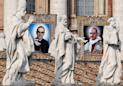 Slain Salvadoran bishop Romero and Pope Paul VI become saints