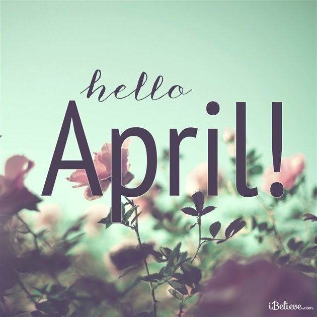 Image result for hello april